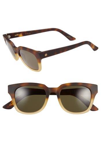 Unique Retro Vintage Style Sunglasses & Eyeglasses Mens Electric 40Five 50Mm Sunglasses - Matte Honey Tortoise Grey $175.00 AT vintagedancer.com