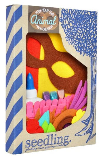 Girl's Seedling 'Make Your Own Animal Mask Creation' Diy Craft Kit