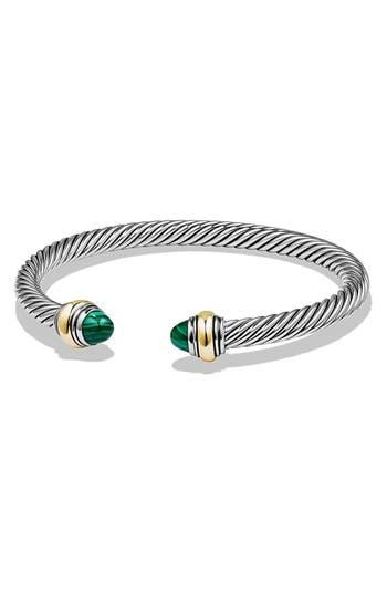 womenu0027s david yurman u0027cable bracelet with gold