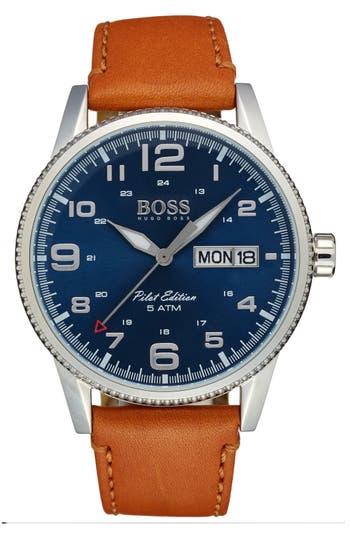 Men's Boss 'Pilot' Watch, 44Mm