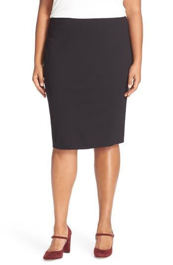 Plus Size Women's Vince Camuto Ponte Knit Skirt