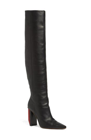Women's Vetements Reflector Heel Knee High Boot