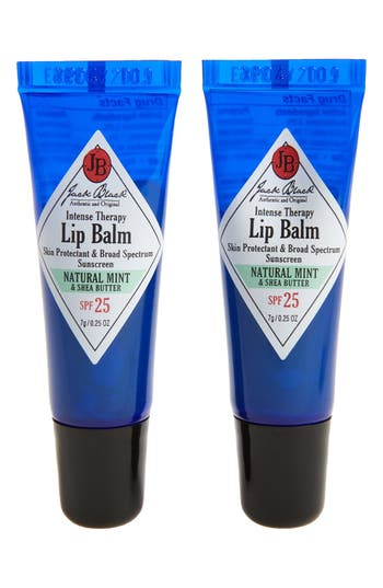 Jack Black Intense Therapy Lip Balm Spf 25 Duo