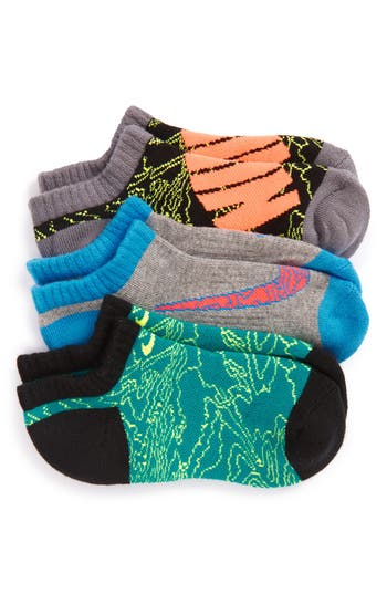 Boy's Nike Performance 3-Pack No-Show Socks