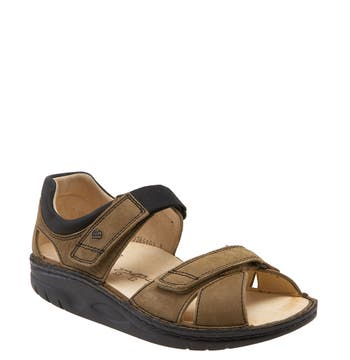 Women's Finnamic By Finn Comfort 'Samara' Walking Sandal, Size 7-7.5US / 38EU - Beige