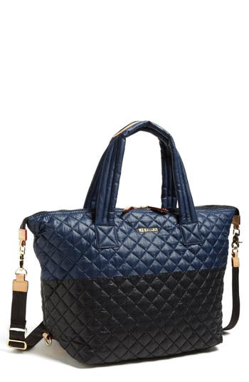 Mz Wallace 'Large Sutton' Quilted Tote - Blue
