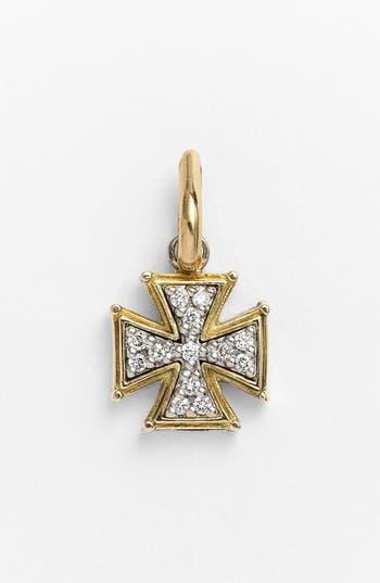 Women's Konstantino 'Classics' Diamond Cross Charm