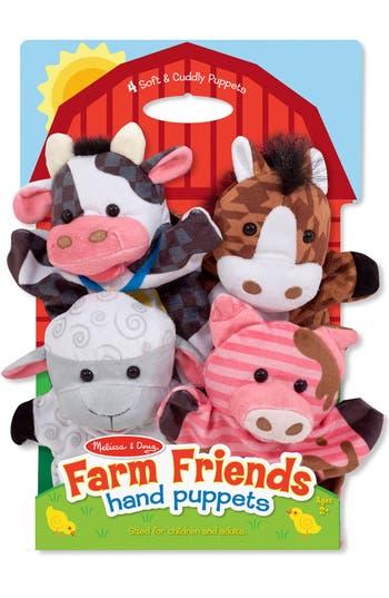 Toddler Melissa & Doug 'Farm Friends' Hand Puppets