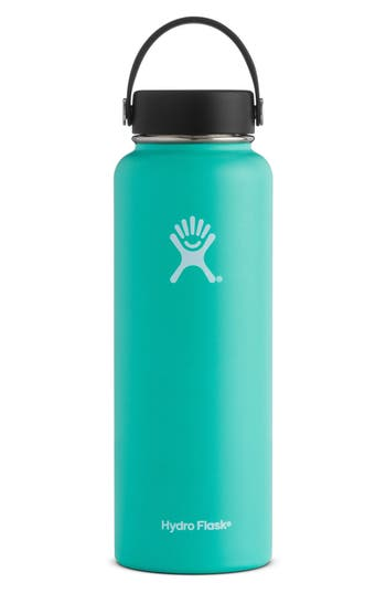 Hydro Flask 40-Ounce Wide Mouth Cap Bottle, Size One Size - Blue/green