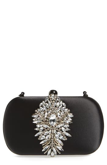 Badgley Mischka Aurora Clutch - Black
