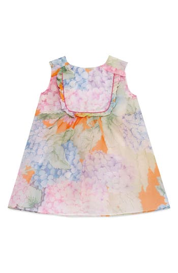 Toddler Girl's Gucci Sleeveless Silk Dress
