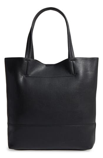 Sole Society Oversize Melyssa Faux Leather Tote -