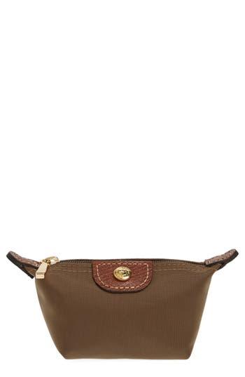 Women's Longchamp 'Le Pliage' Coin Purse - Brown
