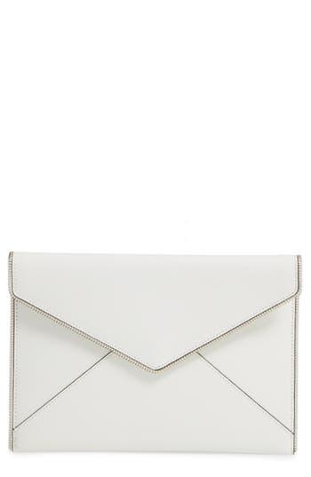 Retro Handbags, Purses, Wallets, Bags Rebecca Minkoff Leo Envelope Clutch - White $56.98 AT vintagedancer.com