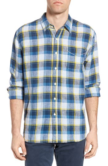 Men's True Grit Plaid Sport Shirt