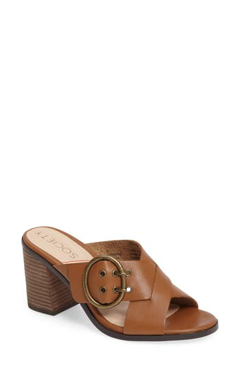 Women's Sole Society Corrine Buckle Sandal