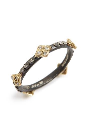 Women's Armenta Old World Crivelli Diamond Stack Ring