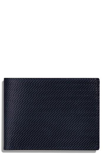 Shinola Leather Wallet - Blue
