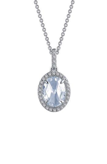 Women's Lafonn Rose Cut Simulated Diamond Pendant Necklace