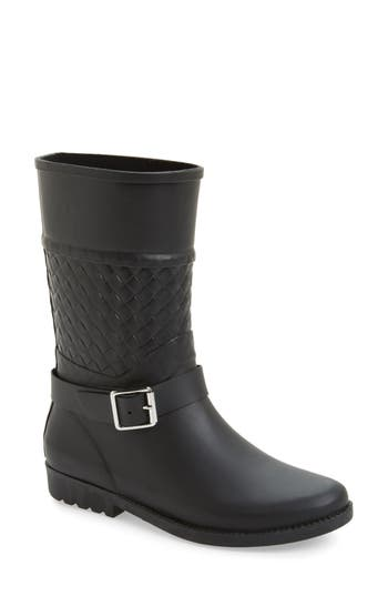 Dav Weston Waterproof Woven Shaft Rain Boot