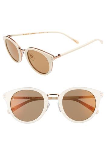 Women's Raen Portrero 50Mm Sunglasses - Bone
