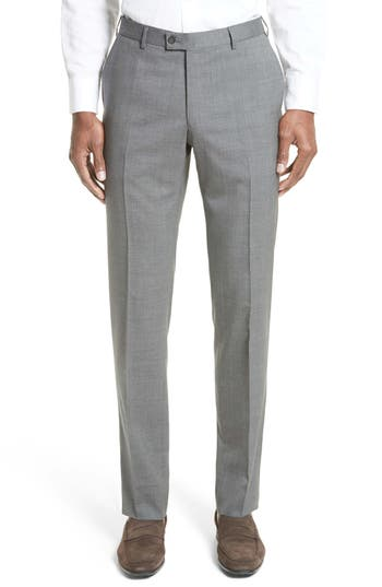 Men's Lanvin Tropical Wool Suit Trousers