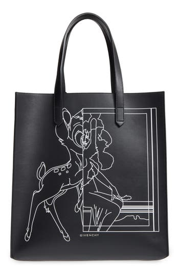 Givenchy Medium Stargate Bambi™ Leather Tote - Black