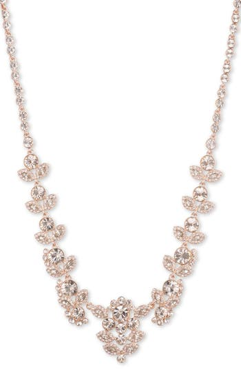 Women's Givenchy Crystal Collar Necklace