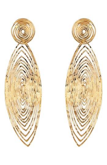 Women's Gas Bijoux 'Long Wave' Drop Earrings