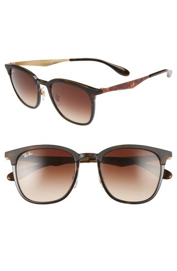 Ray-Ban Highstreet 51Mm Square Sunglasses -