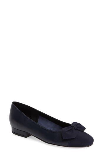 Women's Vaneli Favor Bow Flat, Size 6 M - Blue