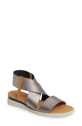 Women's The Flexx Extra Sandal, Size 5.5 M - Metallic
