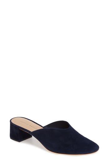 Women's Loeffler Randall Lulu Block Heel Mule, Size 6 M - Blue