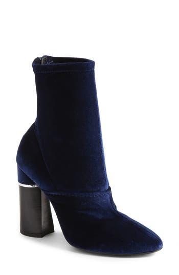 Women's 3.1 Phillip Lim 'Kyoto' Crushed Velvet Boot, Size 5US / 35EU - Blue