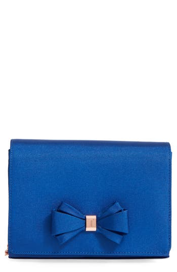 Ted Baker London Bow Clutch - Blue