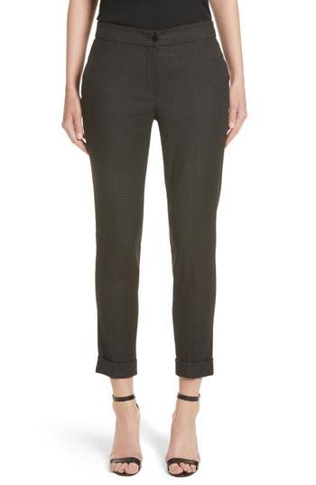 Women's Etro Dot Wool Blend Crop Pants