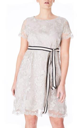 Plus Size Women's Elvi Lace Babydoll Dress
