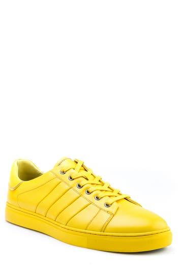 Badgley Mischka Mitchell Sneaker- Yellow