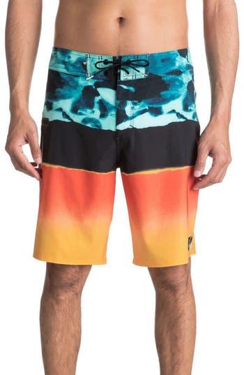Men's Quiksilver Blocked Resin Board Shorts