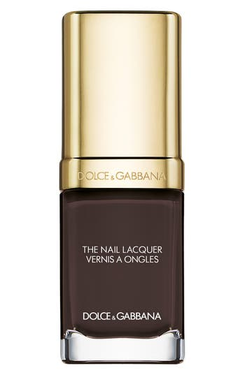 Dolce & gabbana Beauty 'The Nail Lacquer' Liquid Nail Lacquer - Chocolate 155
