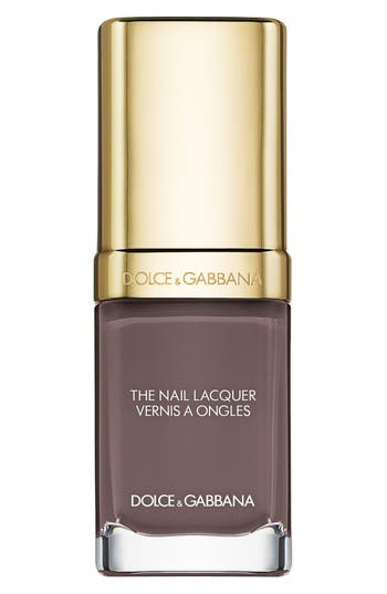 Dolce & gabbana Beauty 'The Nail Lacquer' Liquid Nail Lacquer - Grey Pearl 150