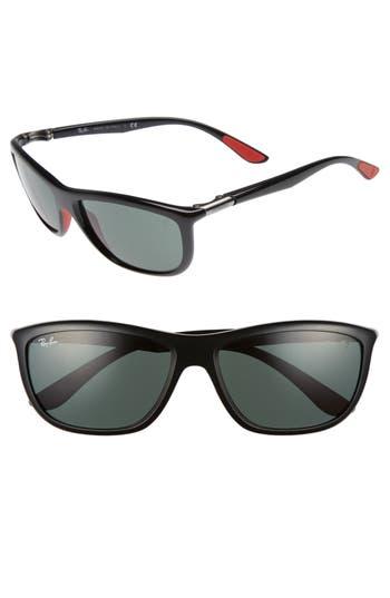 Ray-Ban Wayfarer 60Mm Sunglasses - Black