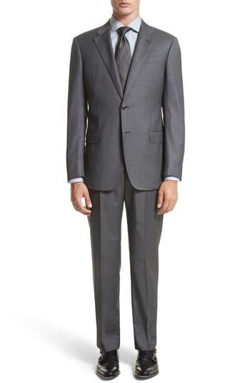 Men's Armani Collezioni G-Line Trim Fit Solid Wool Suit
