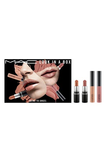 MAC Look In A Box Saint No Angel Mini Lip Kit - No Color