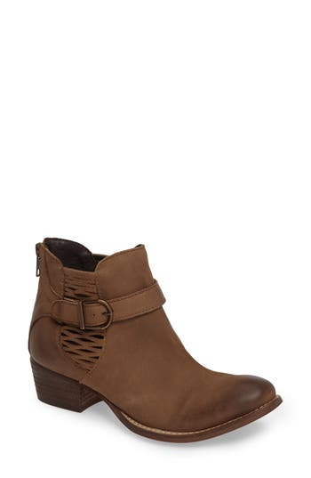 Charles By Charles David Yara Perforated Chelsea Bootie, Brown