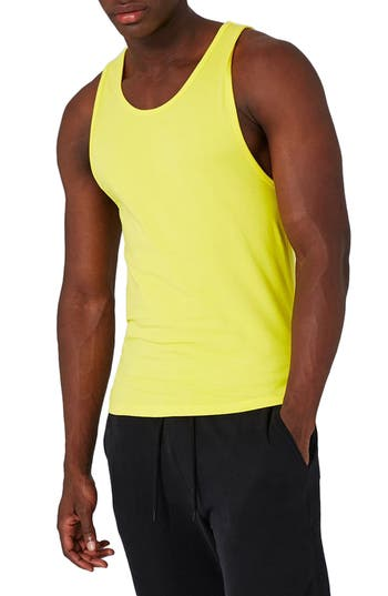 Men's Topman Muscle Fit Tank