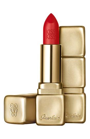 Guerlain Kisskiss Matte Lipstick - M347 Zesty Orange