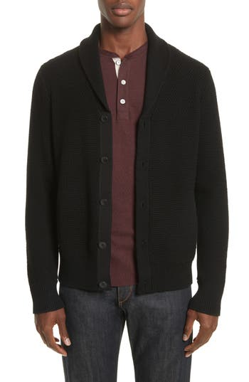 Rag & Bone Cardiff Shawl Cardigan, Black
