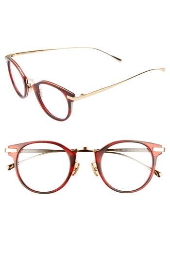 Derek Lam 47Mm Optical Glasses - Red Smoke