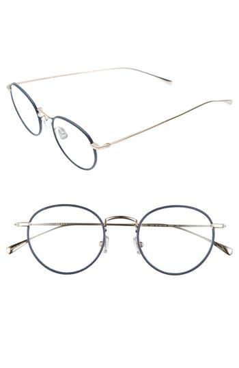 Derek Lam 47Mm Optical Glasses - Navy